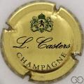 Champagne capsule 7 Or, noir et vert