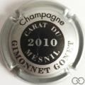 Champagne capsule 14.b Métal  et noir, 2010