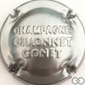 Champagne capsule  Estampée argent