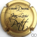 Champagne capsule 4.e Or et noir