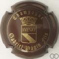 Champagne capsule 20 Marron
