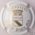 Champagne capsule 19 Blanc