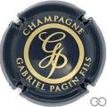 Champagne capsule 29.d Bleu et or