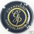 Champagne capsule 29.g Noir et or