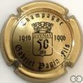 Champagne capsule 2 Or et noir (50 ans)