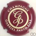 Champagne capsule 29.a Bordeaux et crème