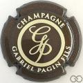 Champagne capsule 29.c Marron et crème