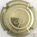 Champagne capsule 29 Or et crème