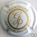 Champagne capsule 29.f Blanc et or