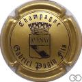 Champagne capsule 6 Or et noir