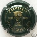 Champagne capsule 1 Vert foncé et or (50 ans)