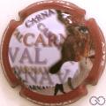 Champagne capsule 8.d Contour rouge pâle
