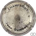 Champagne capsule A1 Nabuchodonosor, écriture noire sur acier
