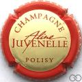 Champagne capsule 7 Crème, contour rouge