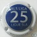 Champagne capsule A2 25 ans, contour blanc
