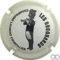 Champagne capsule 5 Blanc et noir