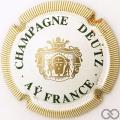 Champagne capsule 28 Contour crème, 32mm