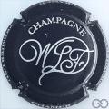 Champagne capsule 1 Noir mat et métal