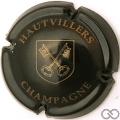 Champagne capsule 26 Noir et or