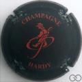 Champagne capsule 5.b Noir mat et rouge