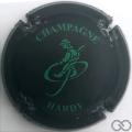 Champagne capsule 5.a Noir mat et vert