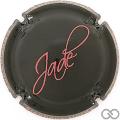 Champagne capsule 2 Jade, noir et rose foncé
