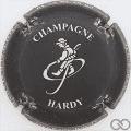 Champagne capsule 5 Noir mat et blanc
