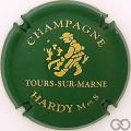 Champagne capsule 1.c Vert et or