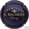 Champagne capsule 19.e Bleu métallisé et or