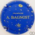 Champagne capsule 16.d Bleu et or