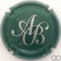 Champagne capsule 7 Vert et argent
