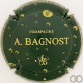 Champagne capsule 16.b Vert foncé et or