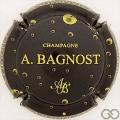 Champagne capsule 16.c Noir et or