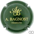 Champagne capsule 14.a Vert foncé et or