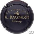 Champagne capsule 19.b Noir et or