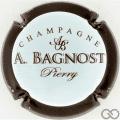 Champagne capsule 20.a Contour marron foncé