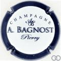 Champagne capsule 20.b Contour bleu foncé