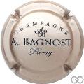 Champagne capsule 19.c Grège et noir