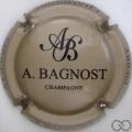 Champagne capsule 14.d Grège et noir