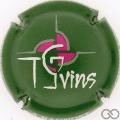 Champagne capsule 13.c Fond vert
