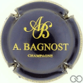 Champagne capsule 14.b Bleu métallisé et or