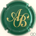 Champagne capsule 1 Vert et or