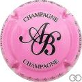 Champagne capsule 18 Rose et noir