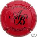 Champagne capsule 18.a Rouge et noir