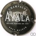 Champagne capsule 37 Noir, blanc et gris-argent, brut majeur