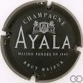 Champagne capsule 38 Noir, brut majeur