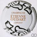 Champagne capsule  Blanc, or et noir
