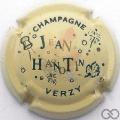 Champagne capsule 12 Crème, feuille verte