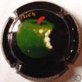 Champagne capsule 74 PALM,  Pomme, par Mich