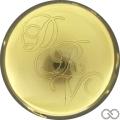Champagne capsule A3 Plaqué or, parure